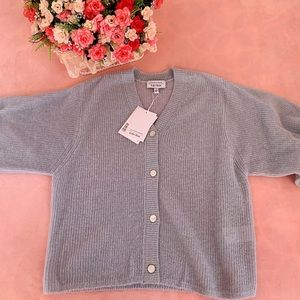 &OtherStories sparkle yarn coverde button cardigan